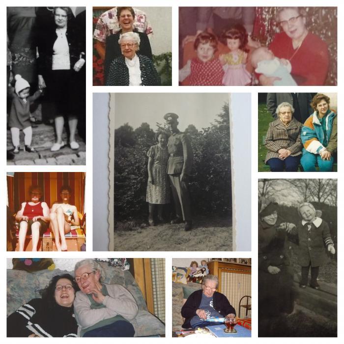 Meine Oma und ich (und Papa und Opa)